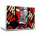 Headturnerz Iron Man 2 Vinyl Laptop Decal - All Laptops With Screen Size Upto 15.6 Inch