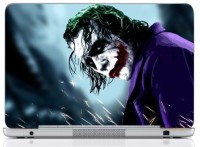 WebPlaza Joker Face Skin Vinyl Laptop Decal (All Laptops With Screen Size Upto 15.6 Inch)