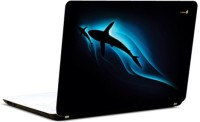 Pics And You Ocean Black And Blue Vinyl Laptop Decal (Laptops And Macbooks)