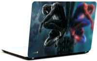 Pics And You Spiderman Black And Blue Vinyl Laptop Decal (Laptops And Macbooks)