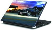 Artifa Black Vintage Car Vinyl Laptop Decal (Laptop)