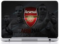WebPlaza Arsenal Team Skin Vinyl Laptop Decal (All Laptops With Screen Size Upto 15.6 Inch)