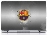 WebPlaza Fcb Logo Gray Skin Vinyl Laptop Decal (All Laptops With Screen Size Upto 15.6 Inch)