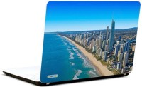 Pics And You Ocean And City Vinyl Laptop Decal (Laptops And Macbooks)