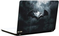 Pics And You Batman Rugged Logo 2 3M/Avery Vinyl Laptop Decal (Laptops And MacBooks)