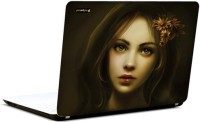 Pics And You Beautiful Fantasy Girl 13 3M/Avery Vinyl Laptop Decal (Laptops And MacBooks)