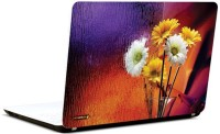 Pics And You Flower Décor Vinyl Laptop Decal (Laptops And Macbooks)