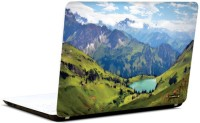Pics And You Mountains And Hills 12 3M/Avery Vinyl Laptop Decal (Laptops And MacBooks)