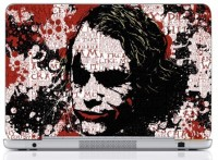 WebPlaza Typographi Joker Laptop Skin Vinyl Laptop Decal (All Laptops With Screen Size Upto 15.6 Inch)