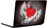 Pics And You Abstract Heart Design 2 Vinyl Laptop Decal (Laptops And Macbooks)