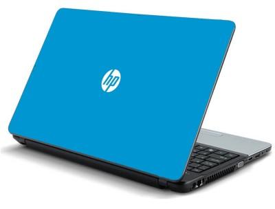 Print Shapes Hp Sky Blue Logo Laminated Vinyl Laptop Decal All 15 6