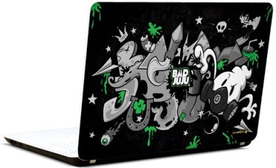 Pics And You Bad Juju Abstract 3M/Avery Vinyl Laptop Decal (Laptops And MacBooks)