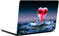 Pics And You Abstract Pink Heart Vinyl Laptop Decal (Laptops And Macbooks)