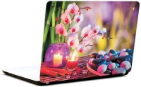 Pics And You Stones And Candle 2 Vinyl Laptop Decal (Laptops And Macbooks)