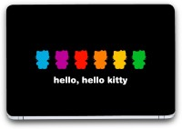 Saledart The Hello Kitty The Girly Girly Multi Color Vinyl Laptop Decal (Laptop)