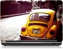 Zapskin Yellow Volkswagen Beetle Skin Vinyl Laptop Decal - Laptop