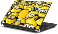 RangeeleInkers Minions Rush Yellow Vinyl Laptop Decal (All Laptop)