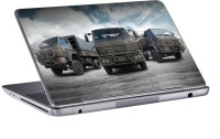 AV Styles Three Military Trucks Skin Vinyl Laptop Decal (All Laptops)