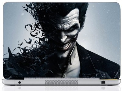 WebPlaza Batman Vs Joker Arkham Skin Vinyl Laptop Decal (All Laptops With Screen Size Upto 15.6 Inch)
