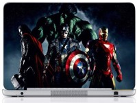 WebPlaza Hulk Team Skin Vinyl Laptop Decal (All Laptops With Screen Size Upto 15.6 Inch)