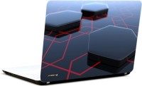 Pics And You Hexagon Pattern Vinyl Laptop Decal (Laptops And Macbooks)