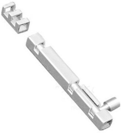 SmartShophar Tower bolt 'Section' Stainless Steel 6 Inches Silver