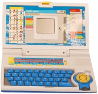 Homeshopeez Kids English Learner Laptop-BL (Multicolor)