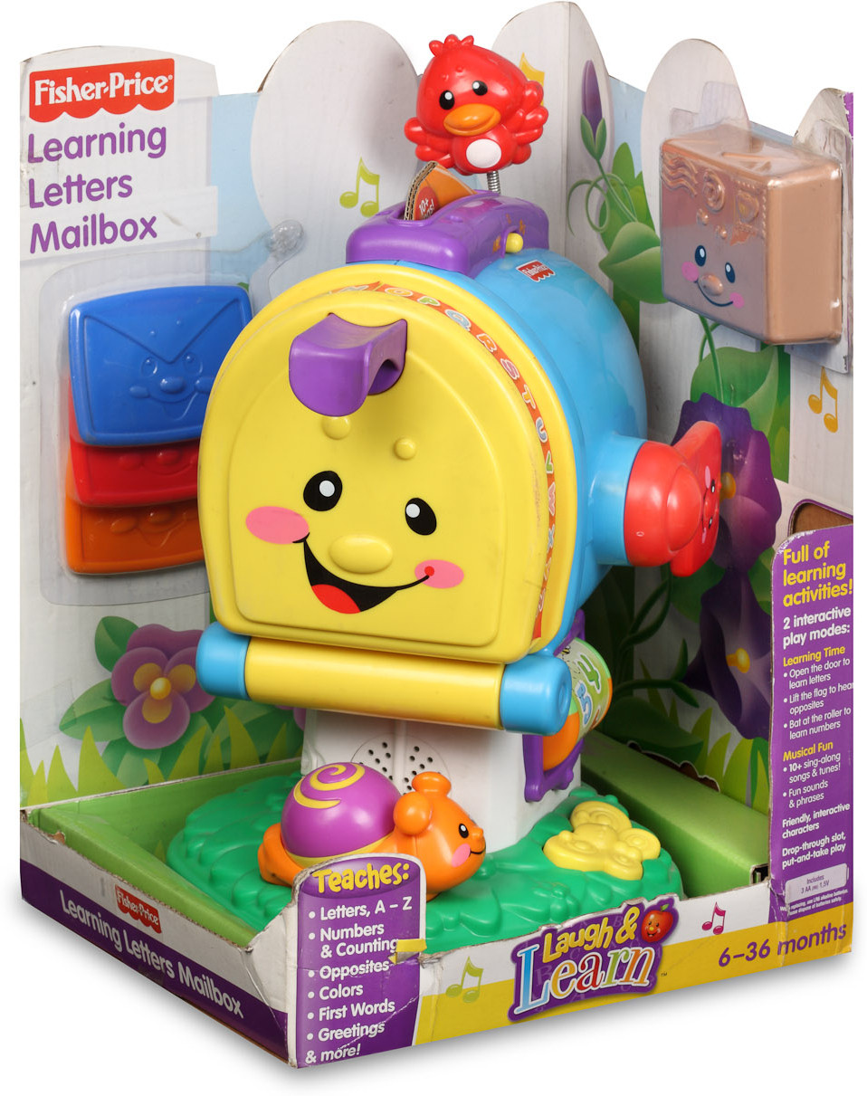 Fisher Price Learning Toys : Fisher price laugh learn learning letters mailbox