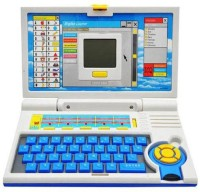 A R Enterprises English Learning Laptop-Blue (Blue)