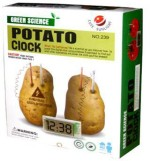 Cute Sunlight Learning & Educational Toys Cute Sunlight Green Science Potato Clock Kit