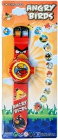 New Pinch Angry Bird Digital Projector Watch-10 (Multicolor)