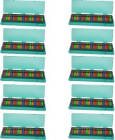 Djuize 17 Rod Multicolor Abacus And Box Type-2 Set Of 10 (Multicolor)