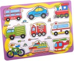 Priya Exports Learning & Educational Toys Priya Exports Vehicles Wooden Puzzle