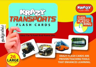Mind Wealth Learning & Educational Toys Mind Wealth Krazy Trasnports Tamil With Ring