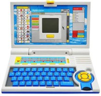 Zeemon Educational Learning English Screen Laptop Toy With Mouse (Multicolor)