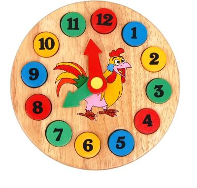 Little Genius Learning & Educational Toys Little Genius Time Clock