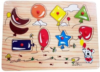 Vacfo Learning & Educational Toys Vacfo Shapes Jigsaw Puzzle