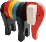 Indiangiftbazzar Learning & Educational Toys Indiangiftbazzar Block Elephant Wooden