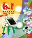 KKD (Kids Zone) 6 In One Solar Kit Green - Multicolor