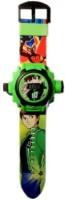 Unica Ben 10 Digital Projector Watch (Multicolor)