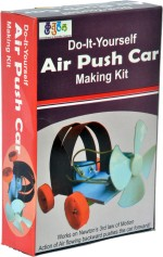Kuthuhal Learning & Educational Toys Kuthuhal Air Push Car Making Kit