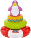 Little Tikes Squirt And Stack Play Penguine - Multicolor