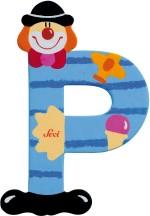 Sevi Learning & Educational Toys Sevi Letter P Clown