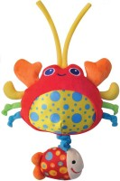 Parkfield Premium Developmental Baby Learning Toy - Pull String Musical Toy (Crab) (Multicolor)