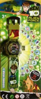 ToysBuggy Ben10 24 Images Projector Watch (Green)