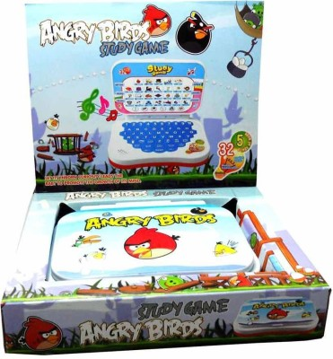Shop & Shoppee Angry Bird Mini English Leaning Laptop Toy (Multicolor)