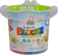 Venus-Planet Of Toys Block Educational Toy Series With Bucket Shape (Multicolor)