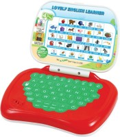 A Smile Toys & More Official English Learning Kids Laptop (Red)
