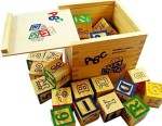 Pigloo Learning & Educational Toys Pigloo Wooden Blocks Learning Toy