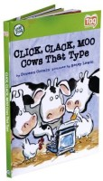 LeapFrog Tag Kid Classic Storybook Click, Clack, Moo, Cows That Type (Multicolor)
